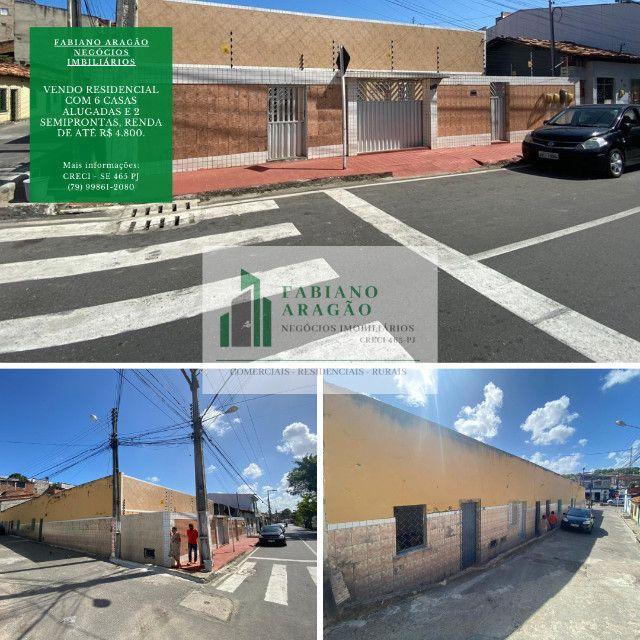 Residencial na Cidade Nova com 6 casas alugadas e 2 semiprontas, Renda de até R$ 4.800