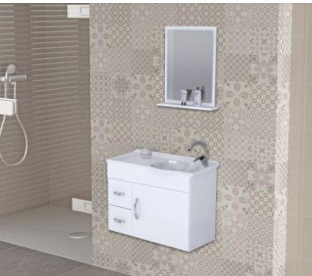 Promoção Kit Banheiro MDF 55cm