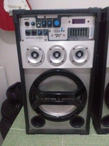 Par de Caixas de Som Amplificadas NKS Excellence PK3000 300W - Foto 3