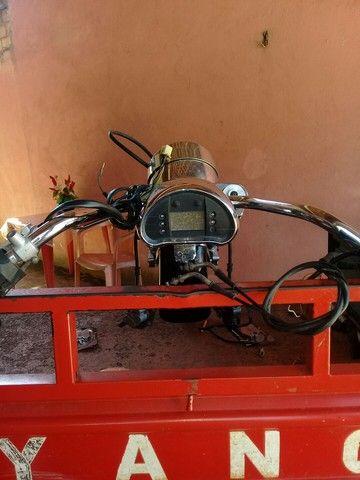 Peça frente de moto kasisnk mirage 650 - Foto 5