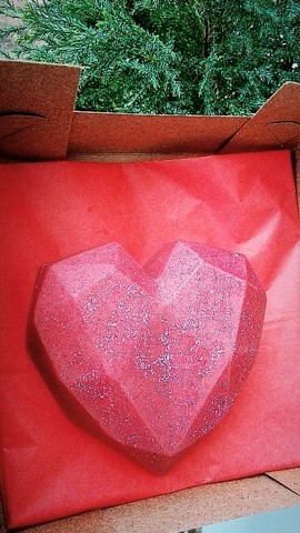 Barras e Corações Recheados - Foto 3