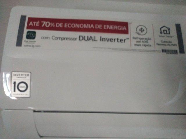 Ar inverter LG dual 18000