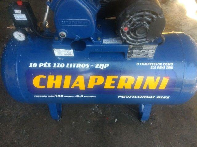 Compressor chiaperini 10 pés - Foto 3