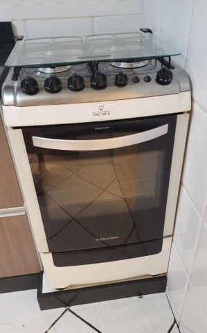 Fogão 4 bocas eletrolux chef grill.  - Foto 5