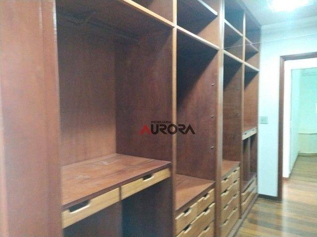 Sobrado com 4 dormitórios para alugar, 370 m² por R$ 5.700,00/mês - Araxá - Londrina/PR - Foto 19