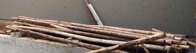 Vendo escoras de 6 m, 4m e escoras entre 2,60 a 3m - Foto 2
