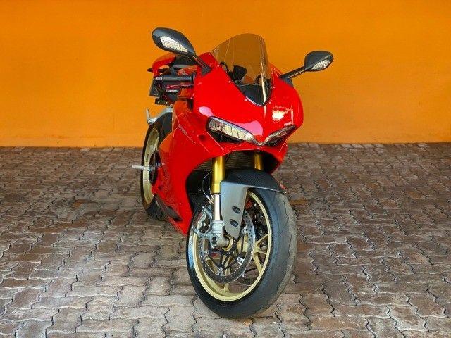 Moto Ducati Panigale S 1299 com incríveis 3.500 Km, vários acessórios, estado de zero! - Foto 12