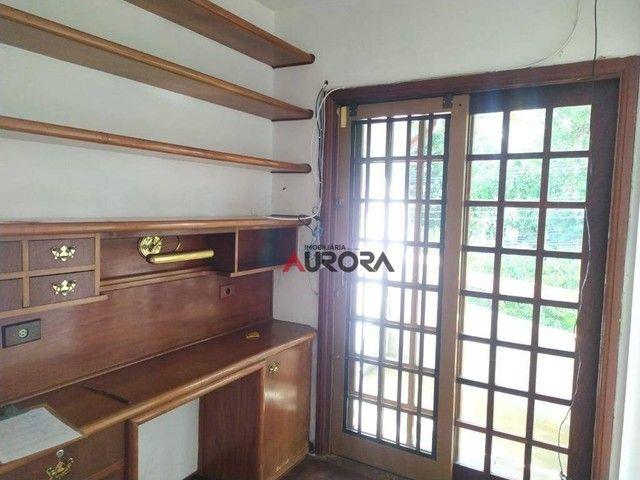 Sobrado com 4 dormitórios para alugar, 370 m² por R$ 5.700,00/mês - Araxá - Londrina/PR - Foto 17