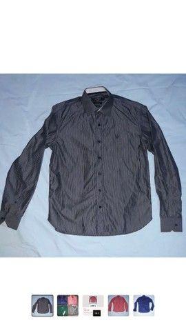 Lote 4 camisas sociais - Foto 3