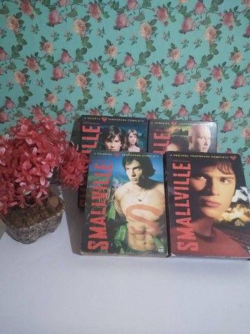 DVD série Smallville