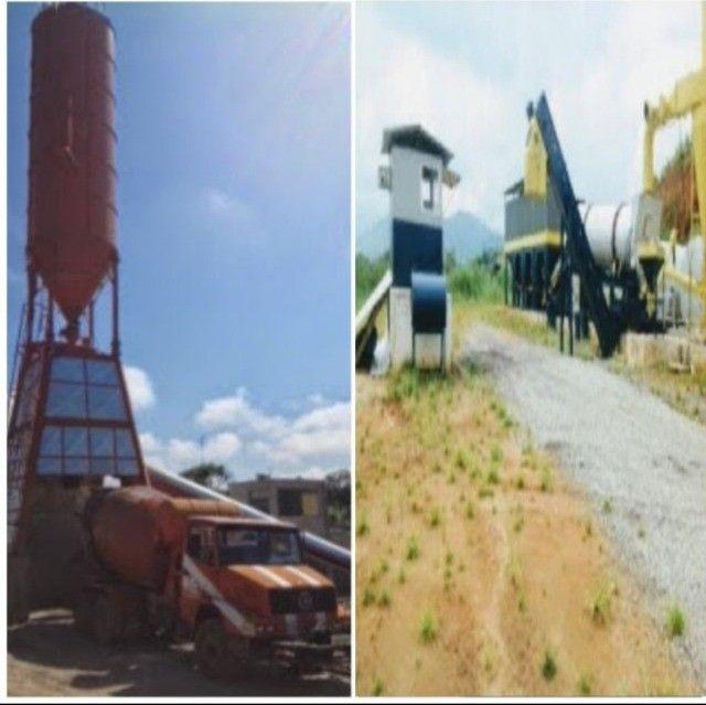 Engenheiro experiência usina concreto e asfalto