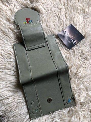 Carteira Playstation Cinza - Foto 3