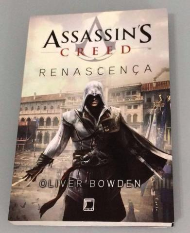 Livro Assassins creed Renacença