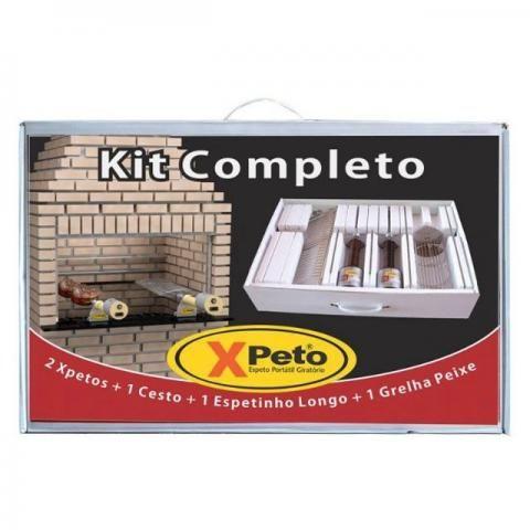 Kit completo xpeto ( espeto portátil giratório)