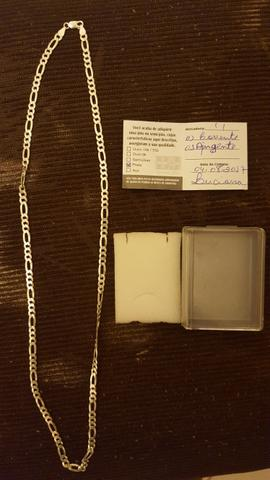 Corrente de Prata Maciça 4 meses de comprado e pouco usado