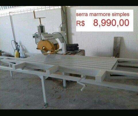 Serra de mármore simples