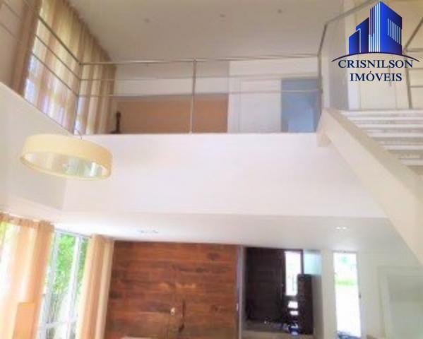 Casa à venda condomínio alphaville i salvador, decorada, 4 suítes, r$ 2.500.000,00, piscin - Foto 5