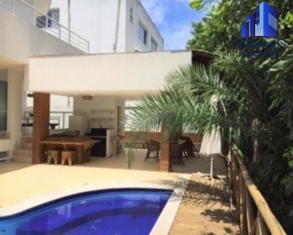 Casa à venda condomínio alphaville i salvador, decorada, 4 suítes, r$ 2.500.000,00, piscin - Foto 4