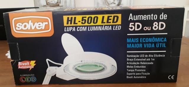 Lupa cim luz de led - Foto 2