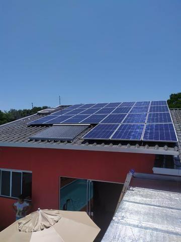 Montagem e desmontagem de painéis solares - Foto 3