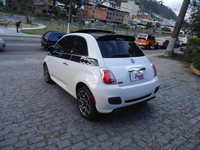 FIAT 500 2011/2012 1.4 SPORT AIR 16V GASOLINA 2P MANUAL - Foto 4