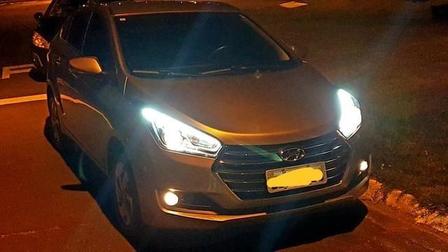 Hyundai HB20s 2017 Premium, AT 6 marchas, couro, garantia 2021, revisado - Foto 14