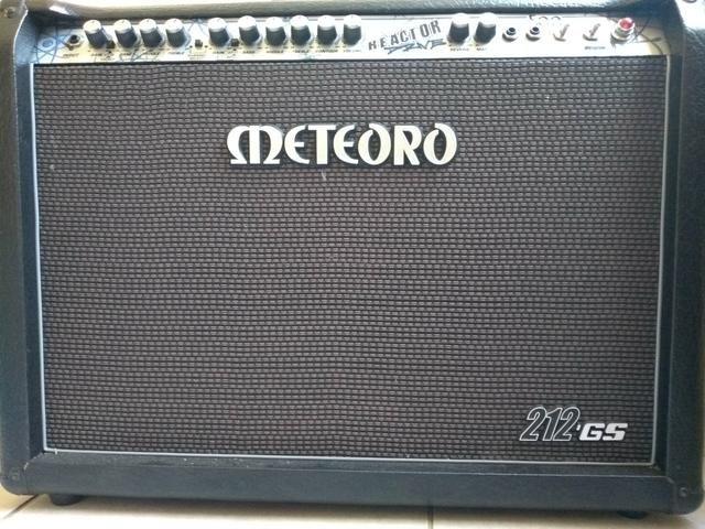 Amplificador Meteoro valvulado - Instrumentos musicais - Jardim ... f522a1f30d