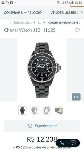 04e30c4074c Relógio Chanel original - Bijouterias