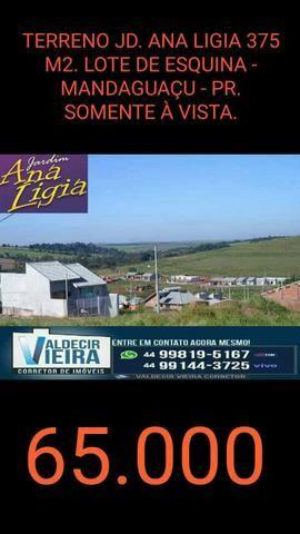 30.000 meio terreno Residencial Jd. Ana Ligia