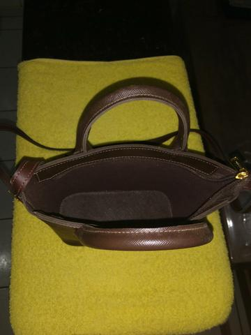 Bolsa de couro legítimo - Foto 2
