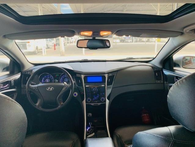 Hyundai Sonata Com Teto Solar Panorâmico,Confira! - Foto 6