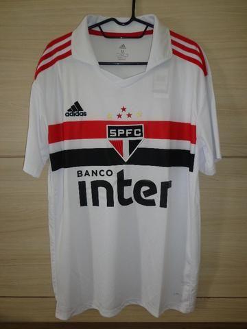 Camisa São Paulo Home Torcedor 2018 / 2019