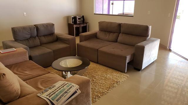 Casa 3quartos suíte piscina churrasqueira lote 830m2 rua 8 Vicente Pires condomínio - Foto 10