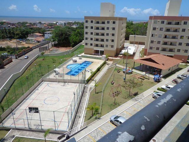 Apartamento 2 quartos com varanda e bela vista para o mar de jacaraipe - Foto 12