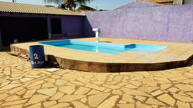 Casa 3quartos suíte piscina churrasqueira lote 830m2 rua 8 Vicente Pires condomínio - Foto 18