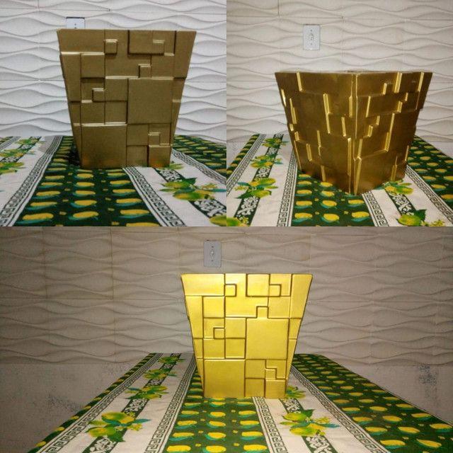 Vasos de decoração 3D - Foto 3