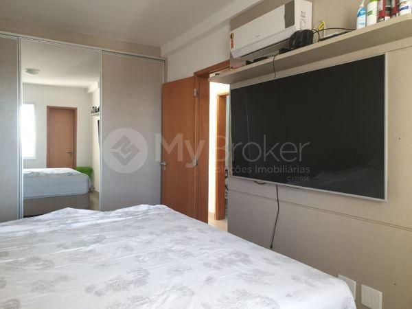 Apartamento com 3 quartos no Residencial Visage Oeste - Bairro Setor Oeste em Goiânia - Foto 8