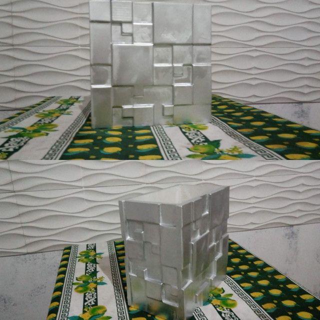 Vasos de decoração 3D - Foto 2