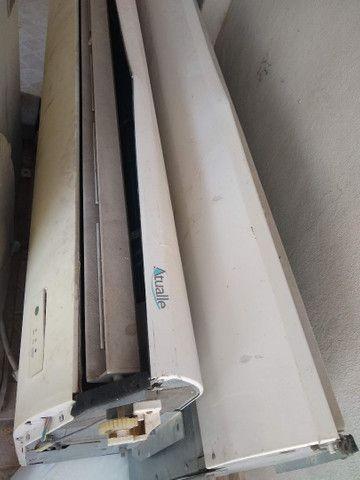 Pra desocupar lugar!Vendo somente evaporadora completa da ELGIN 80 mil BTUs.(220 v) - Foto 3