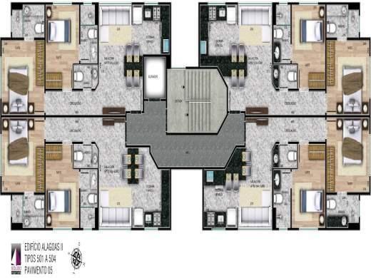 Apartamento à venda com 2 dormitórios em Savassi, Belo horizonte cod:19424 - Foto 2
