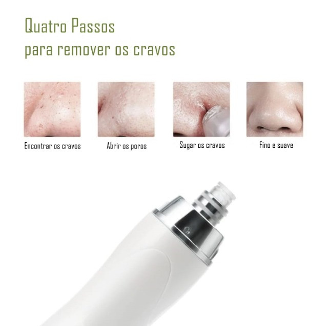 Aparelho Removedor De Cravos A Vacuo Peeling De Diamante D17 - Foto 4