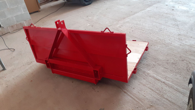 Plataforma transportadora de carga para trator - Foto 2