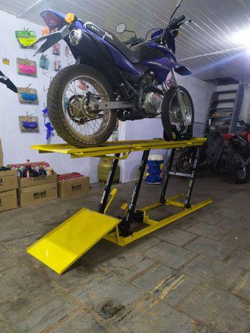 Elevador para motos 350kg FABRICA ** Plantão 24h zap  - Foto 15