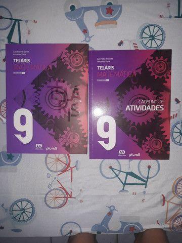 Livro do 9 ano de matematica telaris mais o caderno de atividades - Foto 3