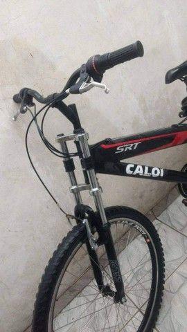 CALOI SRT MONTAIN ALUMÍNIO VENDO OU TROCO POR SOM AUTOMOTIVO - Foto 3