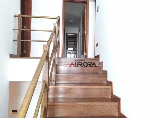 Sobrado com 4 dormitórios para alugar, 370 m² por R$ 5.700,00/mês - Araxá - Londrina/PR - Foto 14