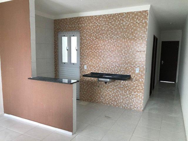 Casas Novas Planas, 86m2, Prontas Pra Morar, 2 Suítes, 2 Vagas e Chuveirão - Foto 3