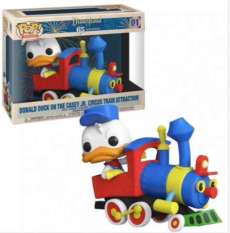 Funko Pop! Disney 65th:  Donald Duck On The Casey Jr. Circus Train Attraction #01