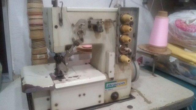Máquina de Costura Galoneira Bracob