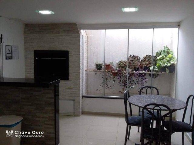Apartamento com 2 dormitórios para alugar, 95 m² por R$ 1.100,00/mês - Centro - Cascavel/P - Foto 17